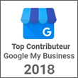 Top Contributeur 2018 - Google My Business